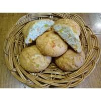 Печенье «мраморное творожное» c цукатами