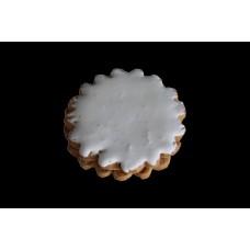Пирожное песочное глазированное